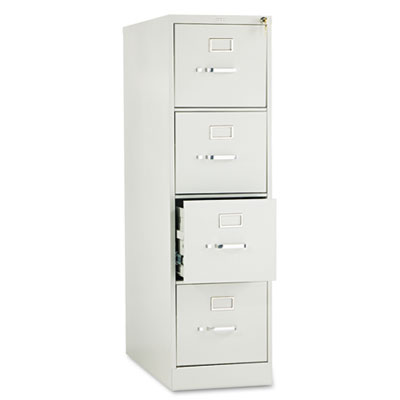 210 Series Four-Drawer, Full-Suspension File, Letter, 28-1/2d, L