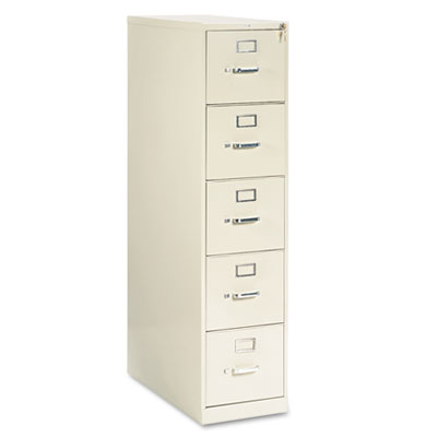 210 Series Five-Drawer, Full-Suspension File, Letter, 28-1/2d, P