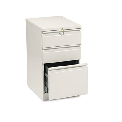 Efficiencies Mobile Pedestal File with One File/Two Box Drawers,