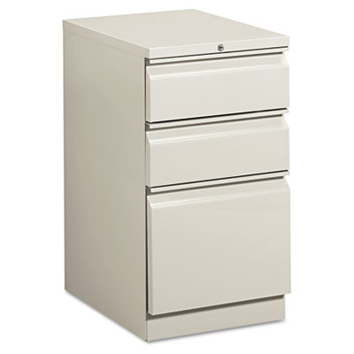 Efficiencies Mobile Pedestal File w/One File/Two Box Drwrs, 19-7