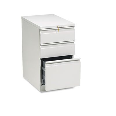 Efficiencies Mobile Pedestal File w/One File/Two Box Drwrs, 22-7