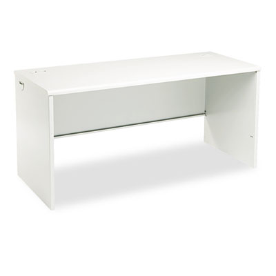 38000 Series Desk Shell, 60w x 24d x 29-1/2h, Light Gray