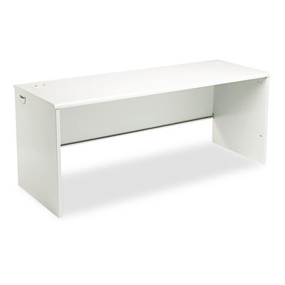38000 Series Desk Shell, 72w x 24d x 29-1/2h, Light Gray