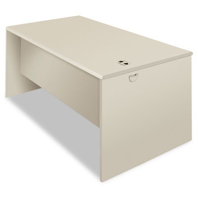 38000 Series Desk Shell, 60w x 30d x 29-1/2h, Light Gray