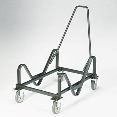 GuestStacker Cart, 21-3/8 x 35-1/2 x 37-7/8, Black