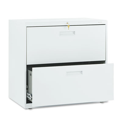 500 Series Two-Drawer Lateral File, 30w x 19-1/4d x 28-3/8h, Lig