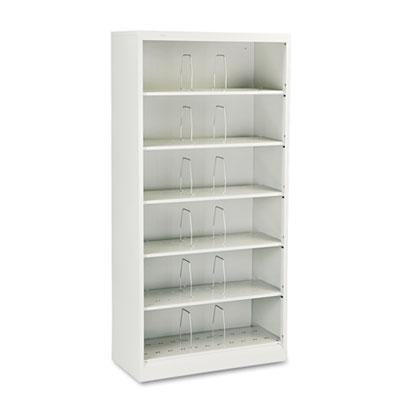 600 Series Steel Open Shelving, Six-Shelf, 36 x 16-3/4 x 75-7/8,