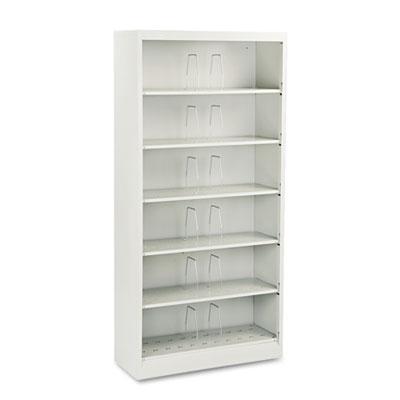 600 Series Steel Open Shelving, Six-Shelf, 36w x 13-3/4d x 75-7/