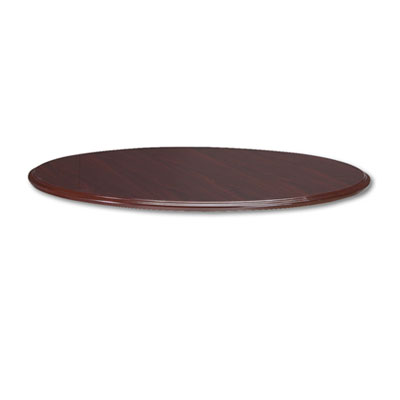 "94000 Series Round Table Top, 48"" Diameter, Mahogany"