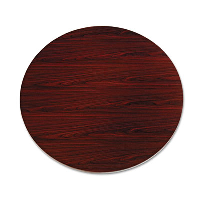 "10500 Series Round Table Top, 48"" Diameter, Mahogany"
