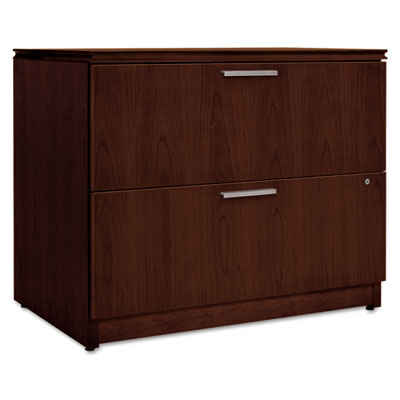 Arrive Wood Veneer Two-Drawer Lateral File, 36w x 24d x 29-1/2h,