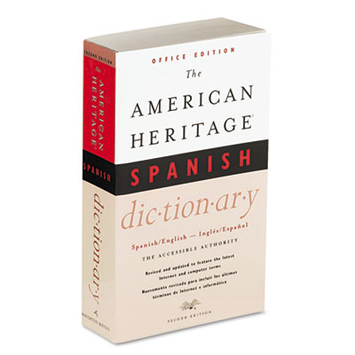 American Heritage Office Spanish Dictionary, Paperback, 640 Page