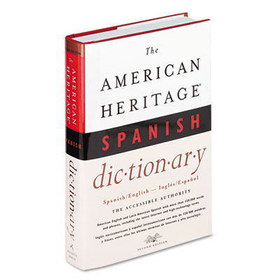 American Heritage Spanish Dictionary, Hardcover, 1,152 Pages