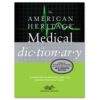 American Heritage Stedman's Medical Dictionary, Hardcover, 944 P