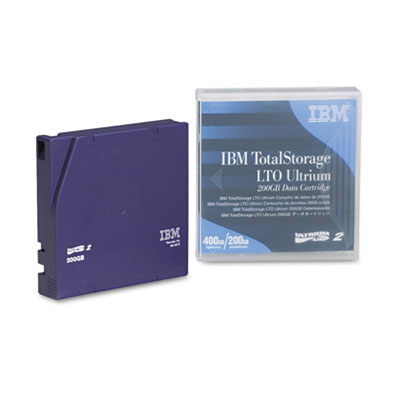Ultrium LTO-2 Cartridge, 200GB, Purple Case