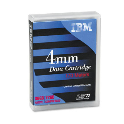 "1/8"" Cartridge, 170m, 36GB Native/72GB Compressed Capacity"