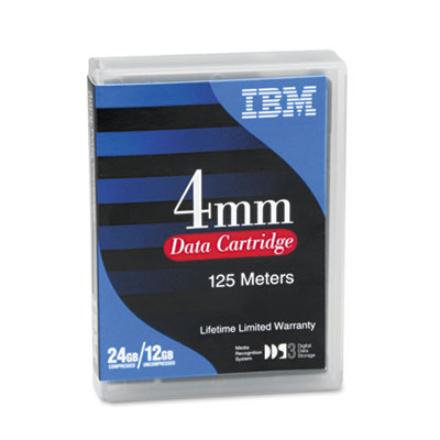 "1/8"" Cartridge, 125m, 12GB Native/24GB Compressed Capacity"