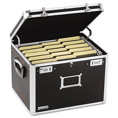 Locking File Chest Storage Box, Letter/Legal, 17-1/2 x 14 x 12-1