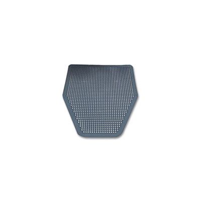 Disposable Urinal Floor Mat, Nonslip, Green Apple Scent, Gray, 6