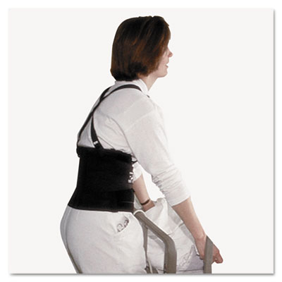 "Standard Back Support, 7"" Back Panel, Single Closure, Suspenders"