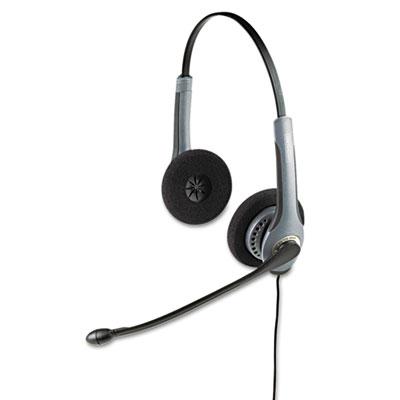 GN2025NCNB Flex Over-the-Head Standard Telephone Headset w/Noise
