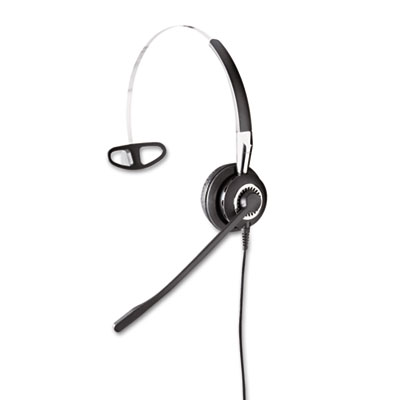BIZ 2410 Monaural Over-the-Head Headset w/Omni-Directional Micro