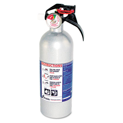 FX511 Automobile Fire Extinguisher, 5 B:C, 100psi, 14.5h x 3.25