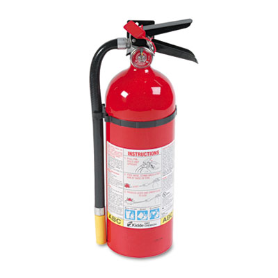 ProLine Pro 5 MP Fire Extinguisher, 3 A, 40 B:C, 195psi, 16.07h