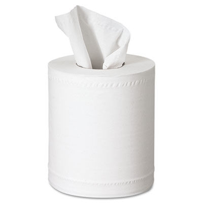 SCOTT Center-Pull Towels, 2-Ply, 8 x 15, White, 250 Sheets/Roll,