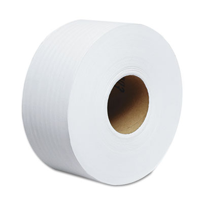 "TRADITION JRT Jumbo Roll Bathroom Tissue, 2-Ply, 9"" dia, 1000ft,"