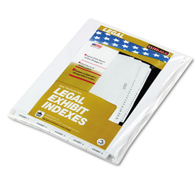 "80000 Series Bottom Tab Legal Index Dividers, ""Exhibit 1"" - ""Exh"