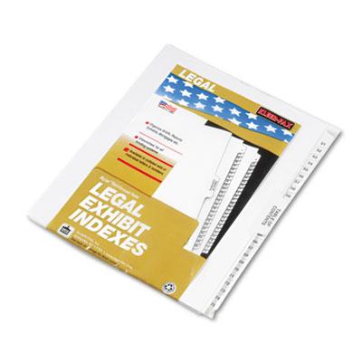 "80000 Series Legal Index Divider Set, Side Tabs, Printed ""51""-""7"