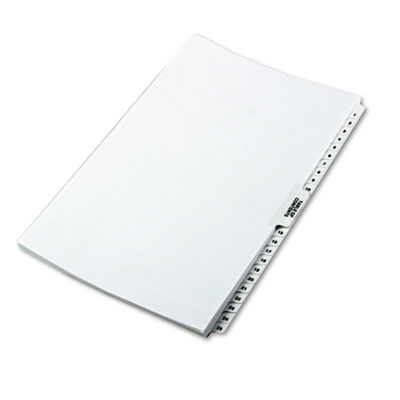 "80000 Series Side Tab Legal Index Divider Set, Printed ""1""-""25"""
