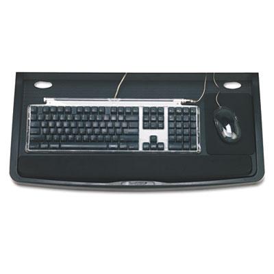 Comfort Keyboard Drawer with SmartFit System, 26w x 13-1/4d, Bla