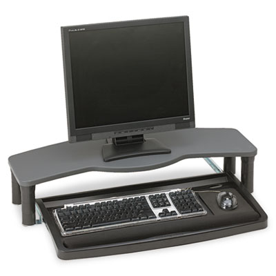 Comfort Desktop Keyboard Drawer With SmartFit, 26w x 13-1/2d, Bl