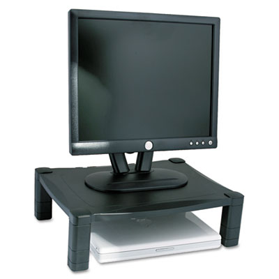 Single Level Height-Adjustable Stand, 17 x 13 1/4 x 3 to 6 1/2,