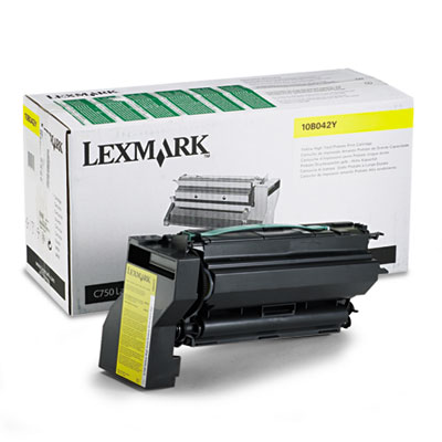 10B042Y High-Yield Toner, 15000 Page-Yield, Yellow