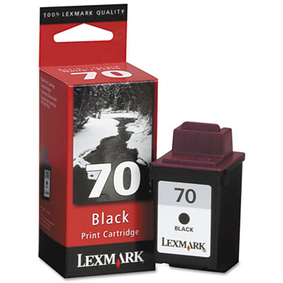12A1970 (70) Ink, 600 Page-Yield, Black