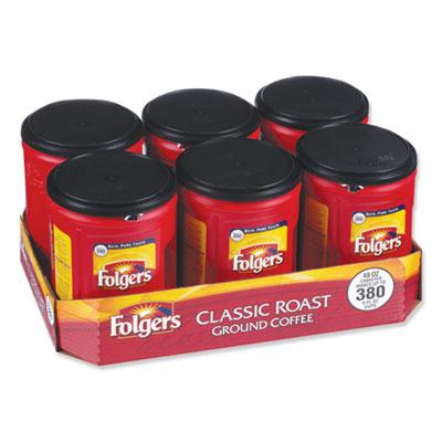 Coffee Classic Roast 48 oz Canister 6/Carton 2550000518