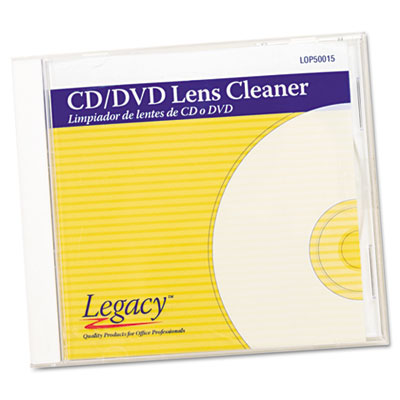 Legacy CD/DVD Lens Cleaner, Wipes, White at Sears.com