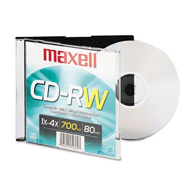 CD-RW, Branded Surface, 700MB/80MIN, 4x