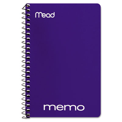 "Memo Book, College Ruled, 6"" x 4"", Wirebound, 40 Sheets, Assorte"