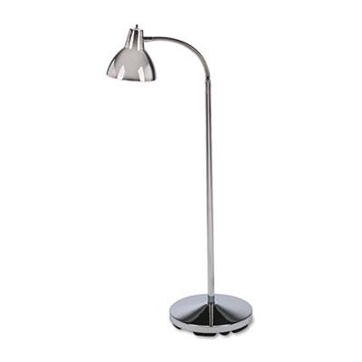 "Classic Incandescent Exam Lamp, Three Prong, 74""h, Gooseneck, St"