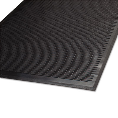 Clean Step Outdoor Rubber Scraper Mat, Polypropylene, 36 x 60, B