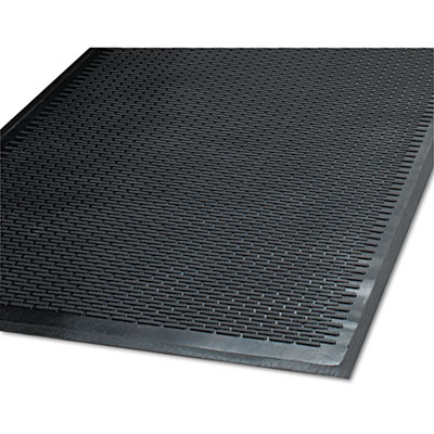 Clean Step Outdoor Rubber Scraper Mat, Polypropylene, 48 x 72, B
