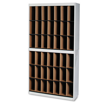 Kwik-File Vertipocket Vertical Sorter, 42 Pockets, 37