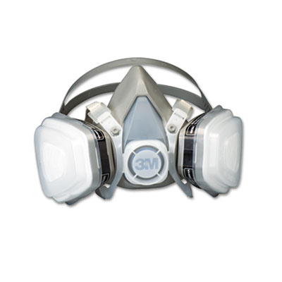 Dual Cartridge Respirator Assembly 52P71, Organic Vapor/P95, Med