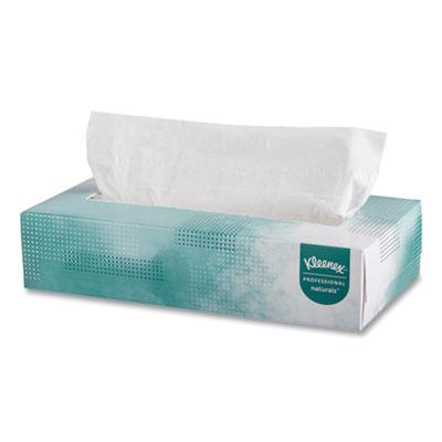 Kleenex Naturals Facial Tissue 2-Ply White 125 Sheets/Box 48 Boxes/Ctn 21601