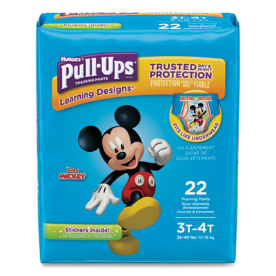 Pull-Ups Learning Designs Potty Training Pants for Boys Size 3T-4T 22/Pack 45141