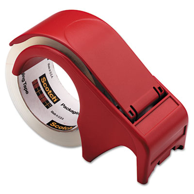 "Compact and Quick Loading Dispenser for Box Sealing Tape, 3"" Cor"